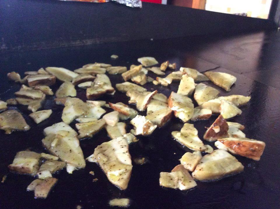 Funghi porcini arrosto