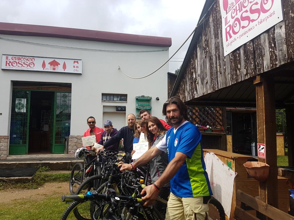 Tour E-Bike al Chiosco Rosso